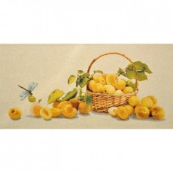 Натюрморты, цветы и фрукты