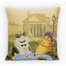 Гобеленовые наволочки: Кошки