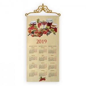 """Календарь """"2019 Ягоды"""" (35х70)"""