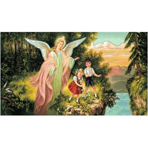 "Панно ""Ангел хранитель"" (135х70)"
