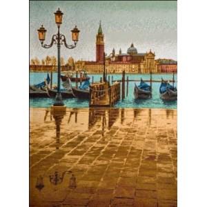 "Панно ""Венеция осенью евро"" (49х35)"