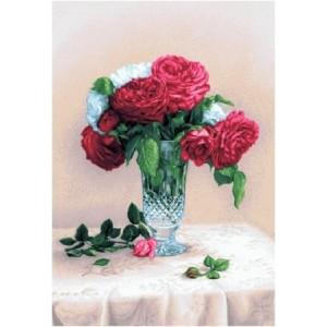 """Панно """"Красные розы"""" (35х48)"""