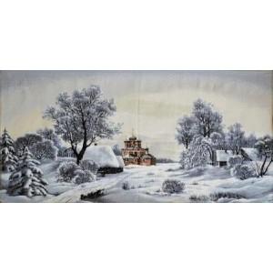 """Панно """"Крещенские морозы"""" (97х50)"""
