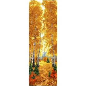 """Панно """"Осенний лес"""" (35х110)"""