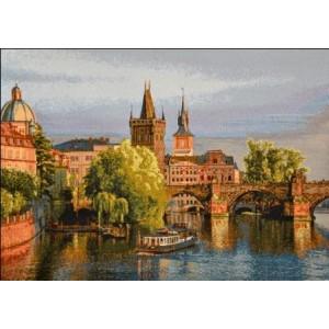 """Панно """"Прага-1"""" (50х35)"""