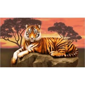 "Панно ""Тигр"" (120х70)"