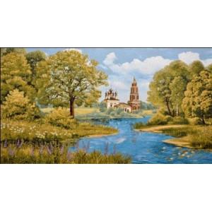 """Панно """"Церковь Благовещения"""" (125х70)"""