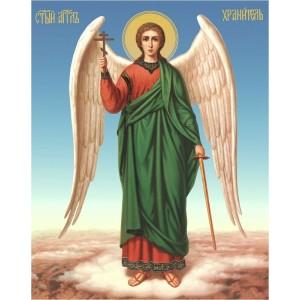 """Панно """"Икона Ангел-хранитель"""" (23х35)"""