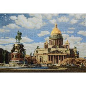 """Панно """"СПб Исаакиевский собор-1"""" (35х50)"""