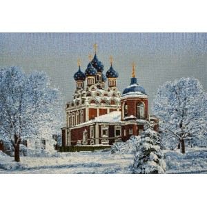 """Панно """"Тихвинский храм"""" (70х50)"""