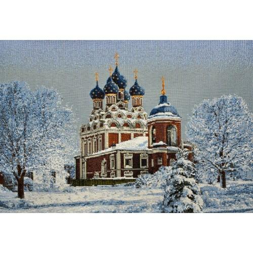 """Панно """"Тихвинский храм"""" (47х37)"""