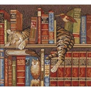"""Панно """"Библиотекарь"""" (61х54)"""