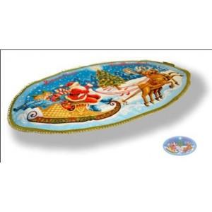 """Салфетка """"Дед Мороз Веселого рождества"""" (85х50)"""