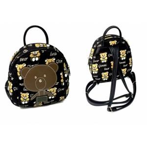 Рюкзачок детский с аппликацией (ткань Мишки на тёмном)