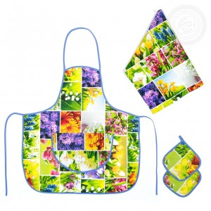 Набор для кухни №3 Первоцветы СБ.003.300