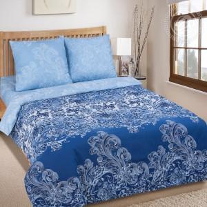 Постельное белье Синий узор 920
