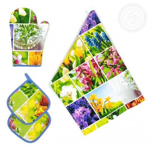 Набор для кухни №1 Первоцветы СБ.001.300