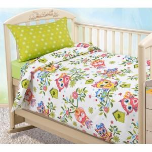 Детское постельное белье «Совята 1», Перкаль