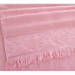 Полотенце махровое Тоскана розовый