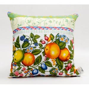 Декоративная подушка Фруктовая палитра