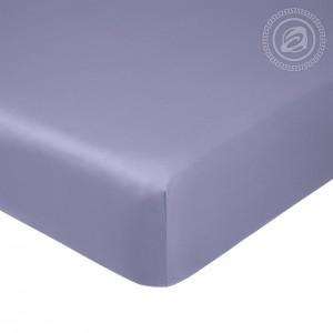 """Простыня на резинке Простыня на резинке """"Фиолетовый"""" 835_гк"""