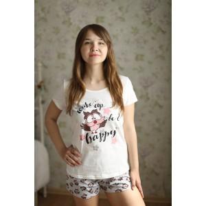 Пижама Хэппи (футболка и шорты)