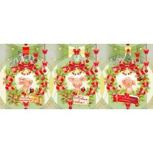 Набор вафельных полотенец «Набор новогодний  710»