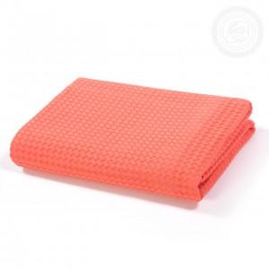 Полотенце вафельное банное Коралловое пк.70.140