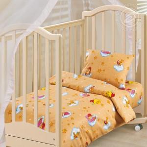 Постельное белье Облачко (желтый) 130