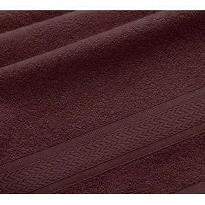 Полотенце махровое Утро коричневый