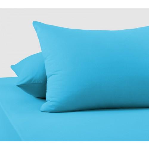 Наволочки «Голубой», Трикотаж, 120 г/м2