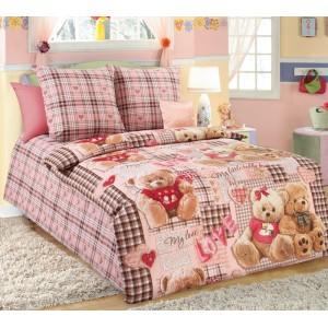 Детское постельное белье «Плюшевые мишки 1», Перкаль
