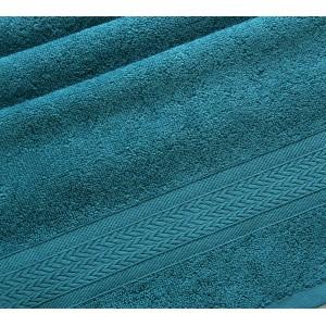 Полотенце махровое Утро морская волна
