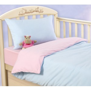 Ясельное постельное белье «Воздушное пирожное», Трикотаж