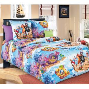 Детское постельное белье «Пираты 1», Перкаль