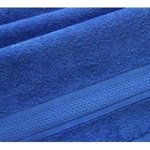 Полотенце махровое Утро синий