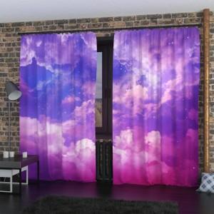 Фотошторы Розовые облака