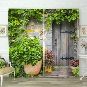 Фотошторы Загадочная дверь