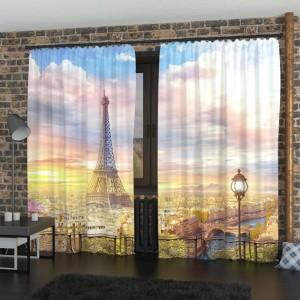 Фотошторы Парижский балкон 5