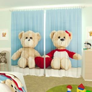 Детские фотошторы Плюшевые медвежата