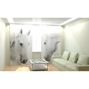 """Фотошторы """"Белые кони"""""""