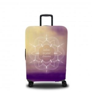 Чехол для чемодана Поверь в свои мечты