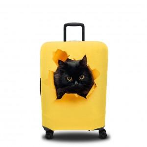 Чехол для чемодана Появление кота