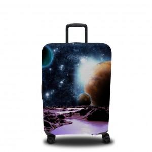 Чехол для чемодана Путешествие к далеким планетам
