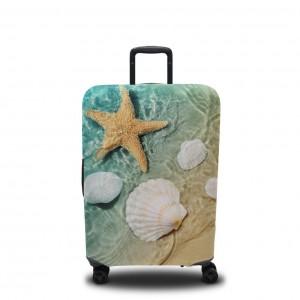 Чехол для чемодана Ракушки на волнах