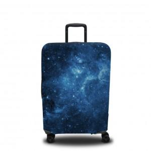 Чехол для чемодана Синее звёздное небо