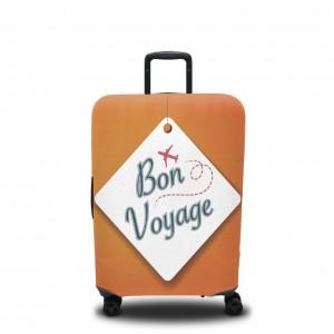 Чехол для чемодана Счастливого путешествия