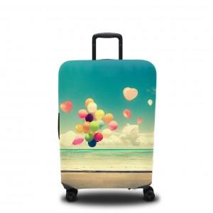 Чехол для чемодана Улетающие шарики
