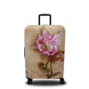 Чехол для чемодана Фреска с цветком 1