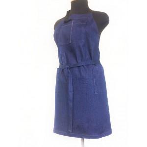 Фартук рабочий из джинсы 50-54 размер
